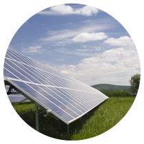 Ground based solar farms
